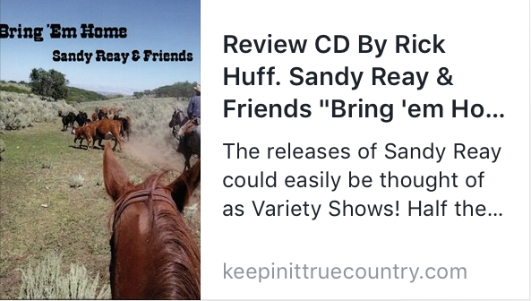 Rick Huff review:  Keepin' It True Country